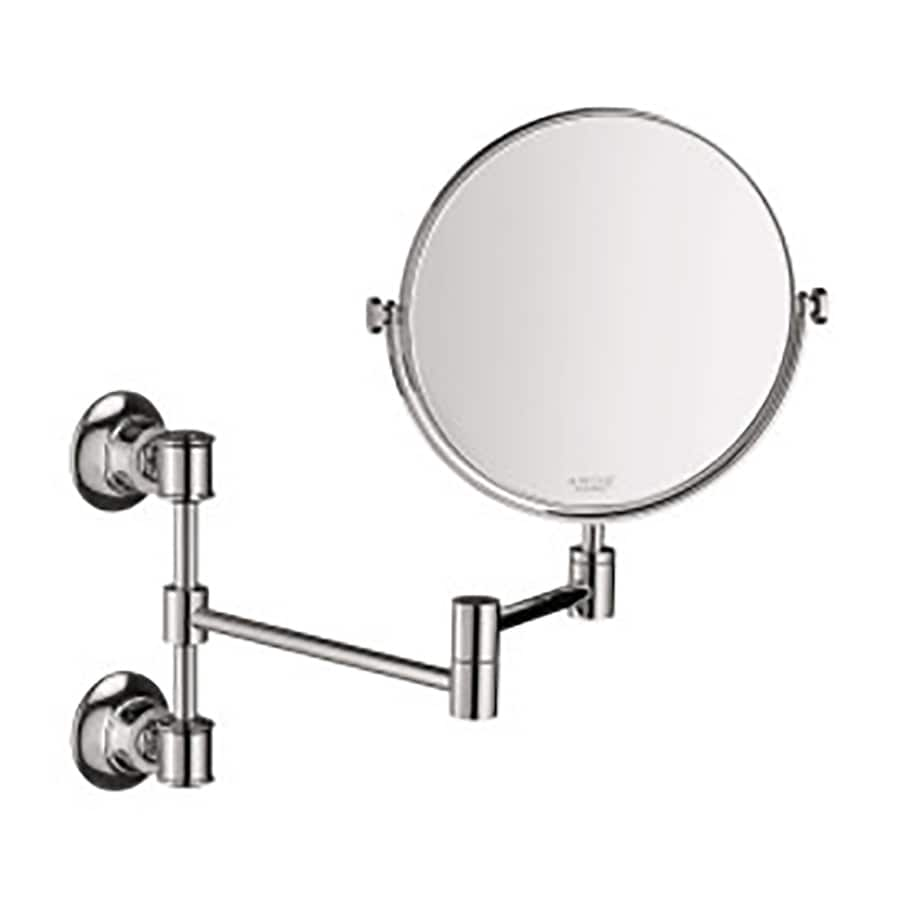 Shop Hansgrohe Axor Montreux Chrome Brass Magnifying Wall-Mounted ...