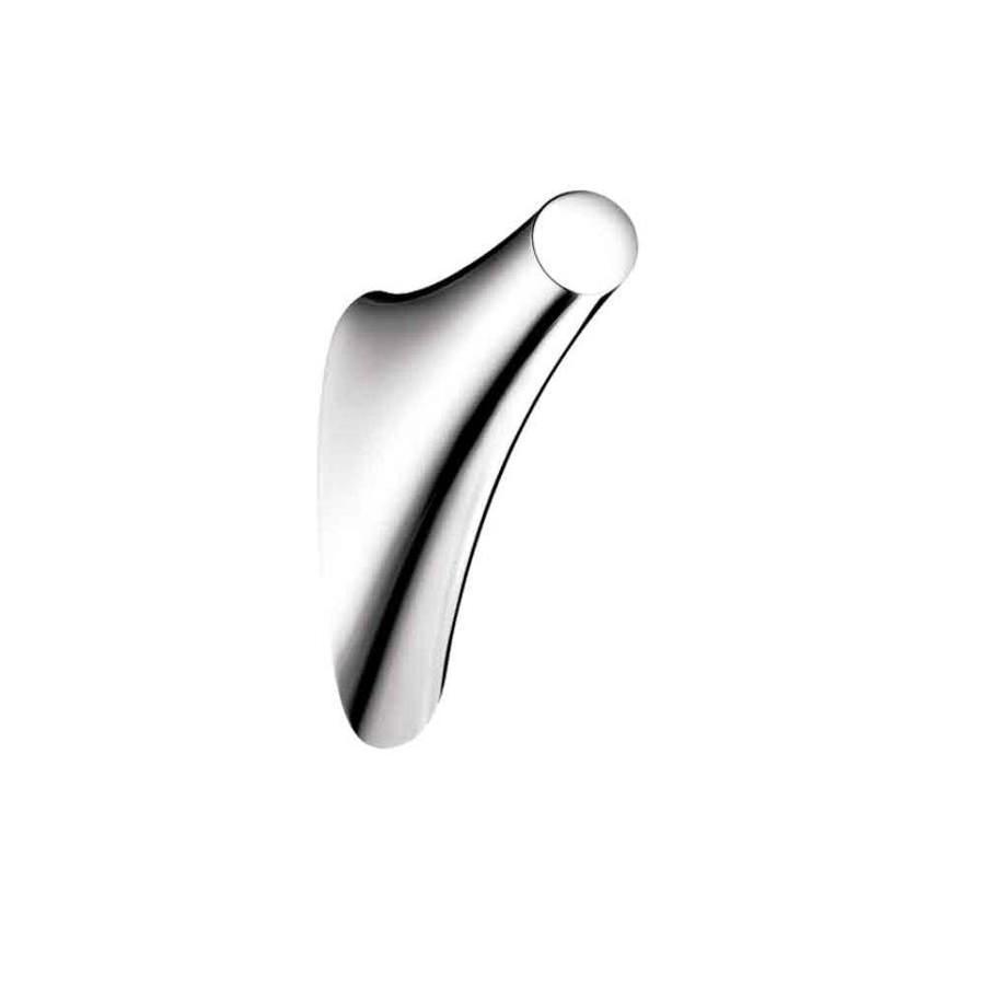 Hansgrohe Axor Massaud 1-Hook Chrome Robe Hook