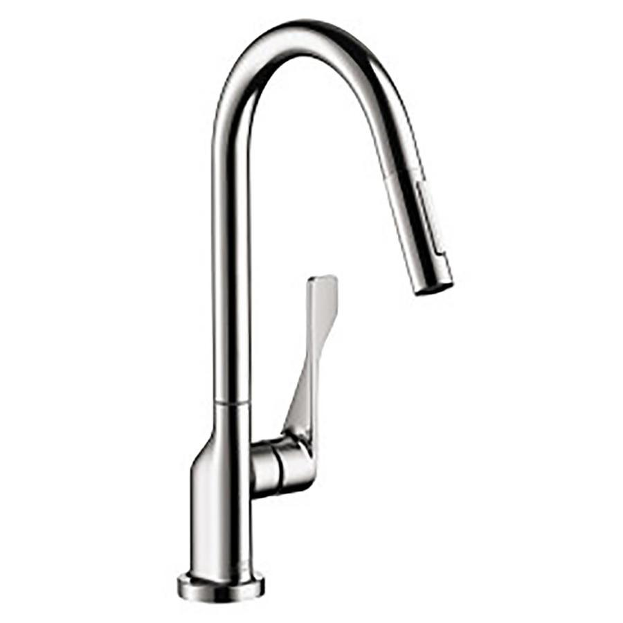 Shop hansgrohe axor kitchen chrome 1 handle pull out - Hansgrohe shower handle ...