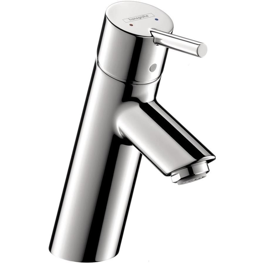Hansgrohe Talis S Chrome 1-Handle Single Hole WaterSense Bathroom Faucet Drain Included