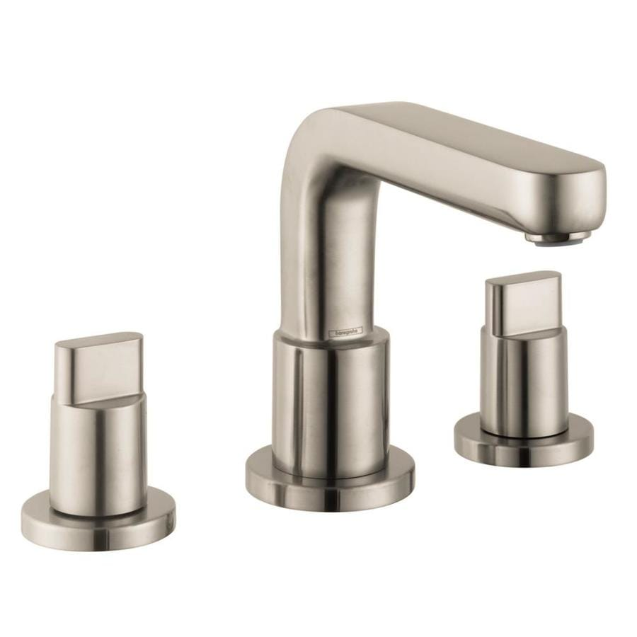Shop hansgrohe metris s brushed nickel 2 handle bathtub - Hansgrohe shower handle ...