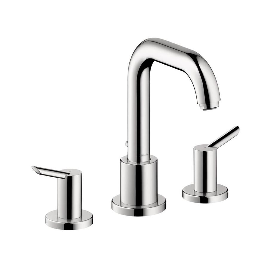 shop hansgrohe focus s chrome 2 handle deck mount bathtub faucet at. Black Bedroom Furniture Sets. Home Design Ideas