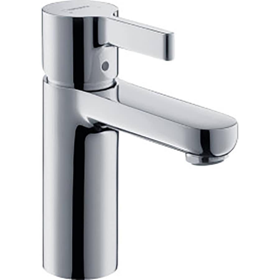 Hansgrohe Metris S Chrome 1-Handle Single Hole WaterSense Bathroom Faucet (Drain Included)