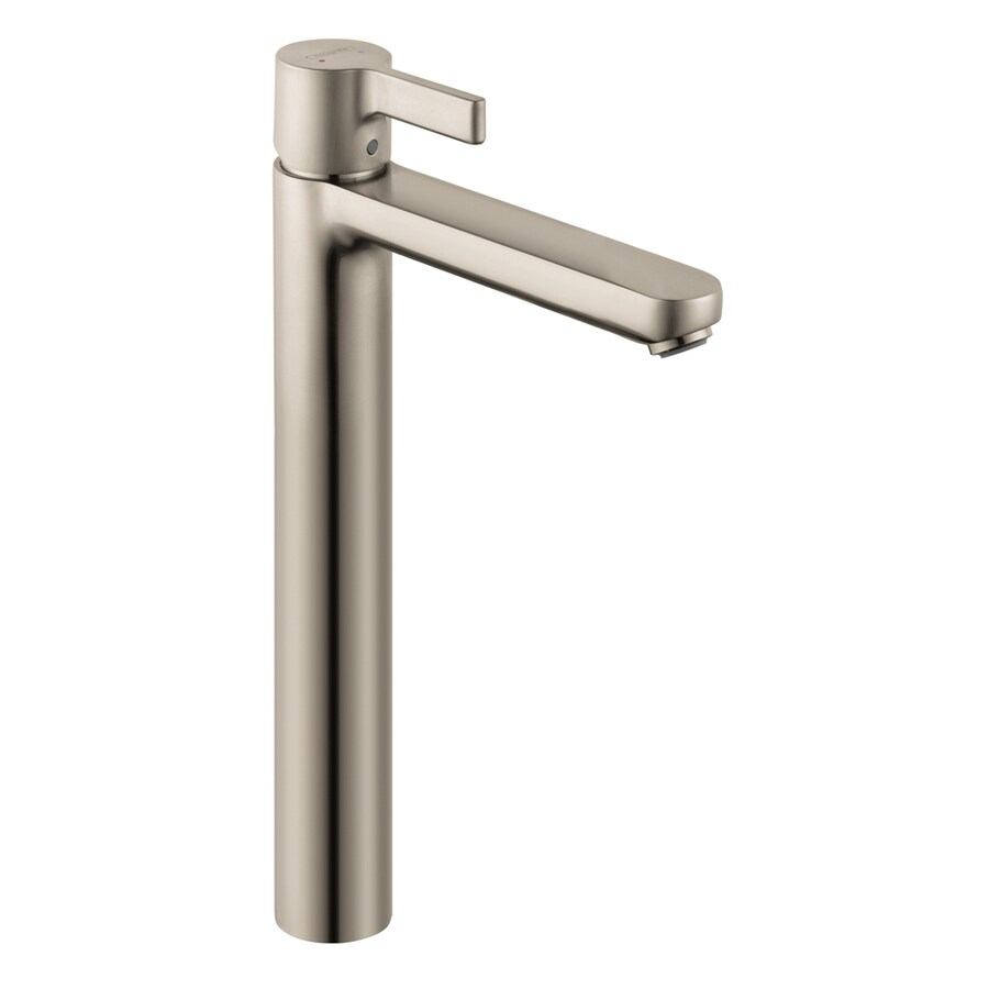 Hansgrohe Metris S Brushed Nickel 1-Handle Single Hole WaterSense Bathroom Faucet (Drain Included)