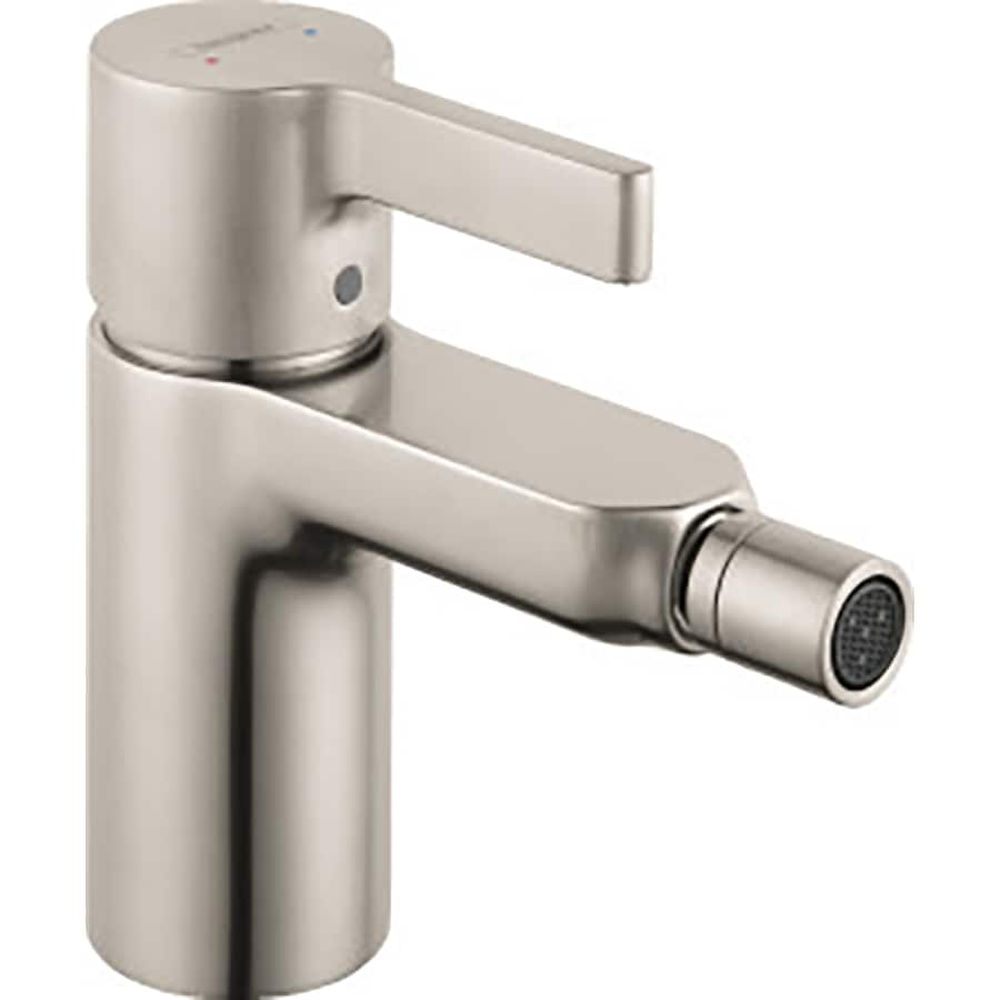 Hansgrohe Metris S Brushed Nickel Horizontal Spray Bidet Faucet