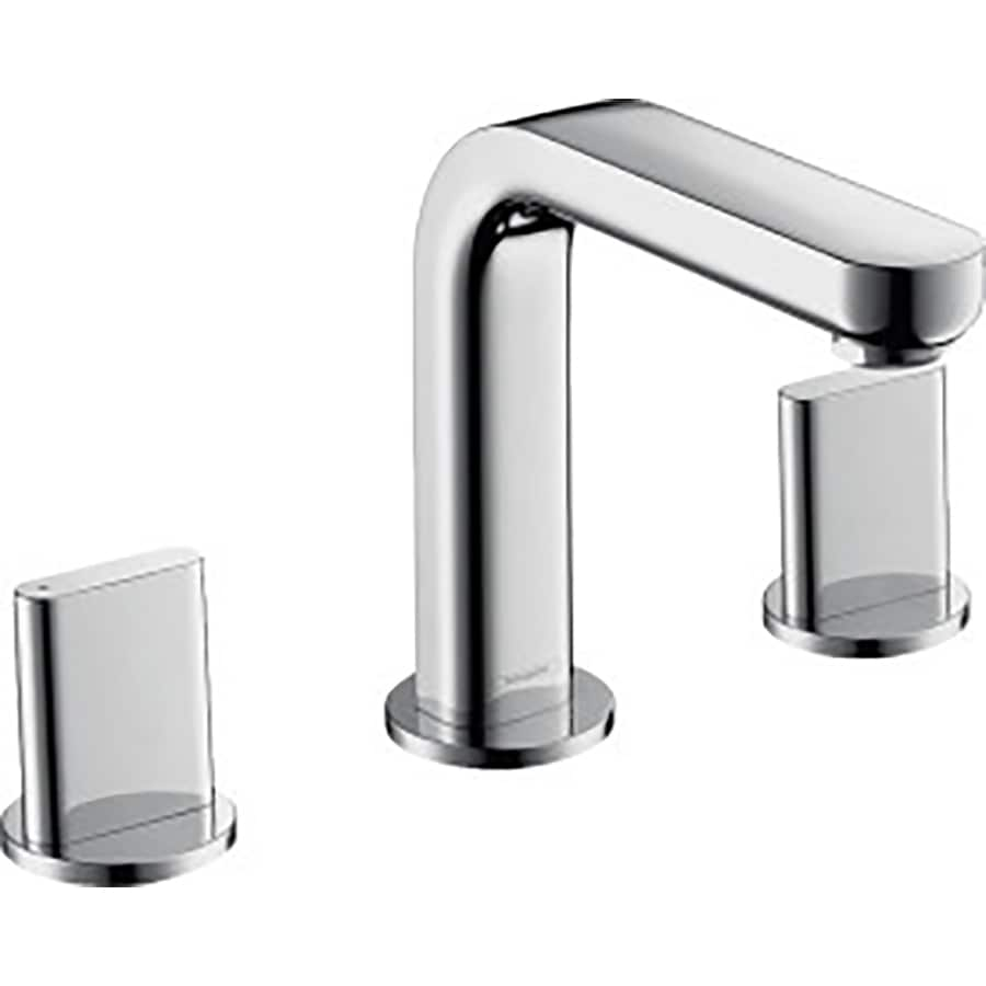 Hansgrohe Metris S Chrome 2-Handle Widespread WaterSense Bathroom Faucet (Drain Included)
