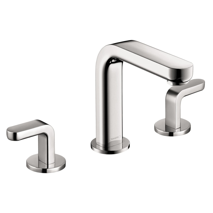 Shop hansgrohe metris s chrome 2 handle widespread - Hansgrohe shower handle ...