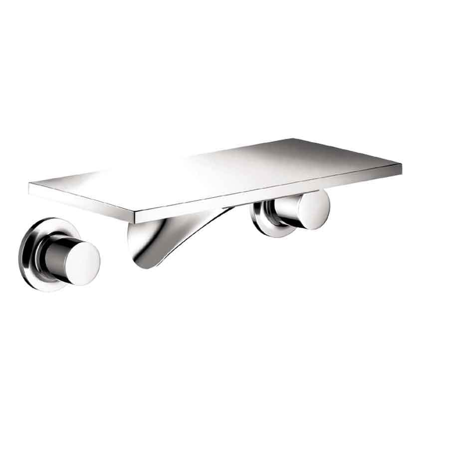 Hansgrohe Axor Massaud Chrome 2-Handle Widespread Bathroom Faucet (Drain Included)