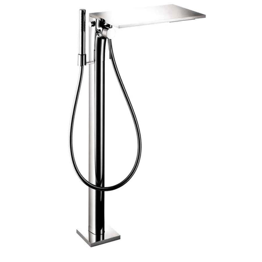 shop hansgrohe axor massaud chrome 1 handle freestanding