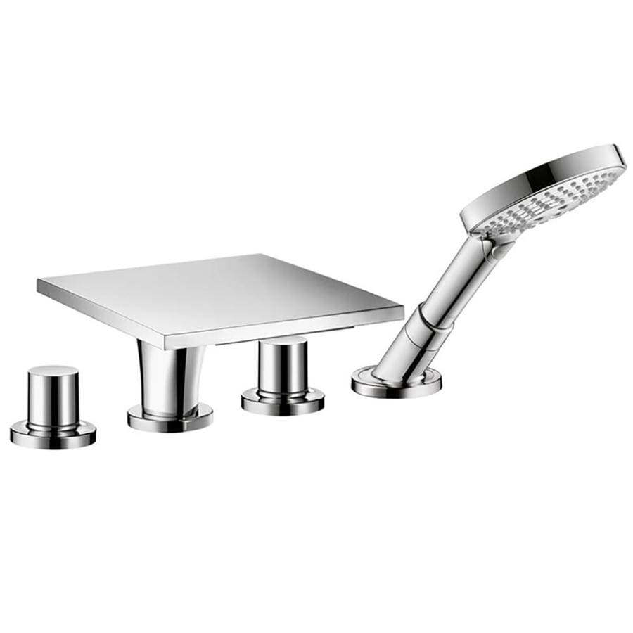Hansgrohe Axor Massaud Chrome 2 Handle Deck Mount Bathtub Faucet