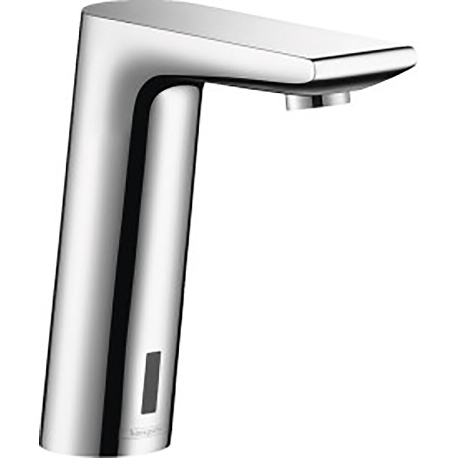 Hansgrohe Metris S Chrome Touchless Single Hole WaterSense Bathroom Faucet (Drain Included)