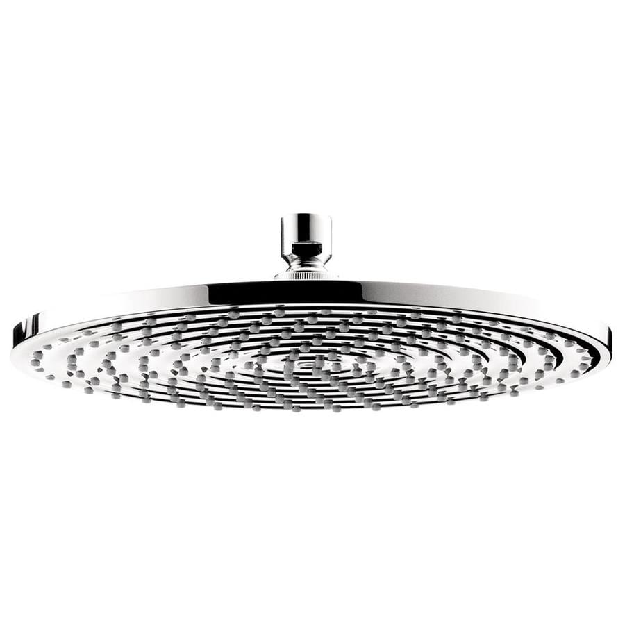 Hansgrohe HG 12-in 2.5-GPM (9.5-LPM) Chrome 1-Spray Rain Showerhead