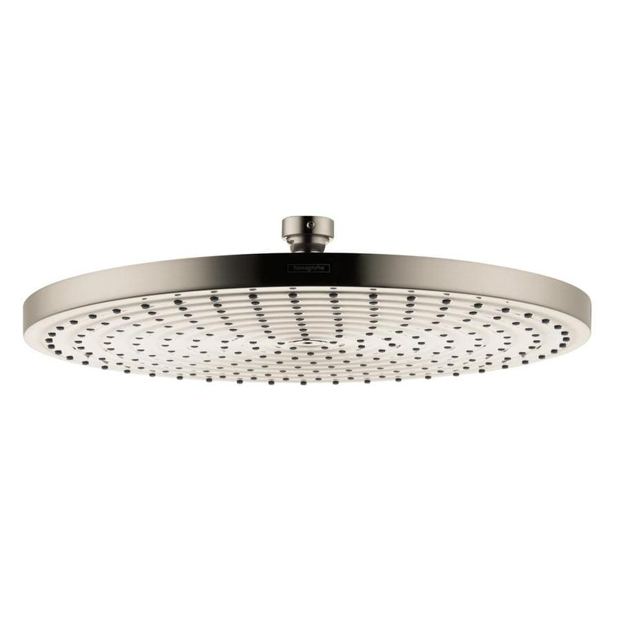 Hansgrohe HG Brushed Nickel 1-Spray Shower Head
