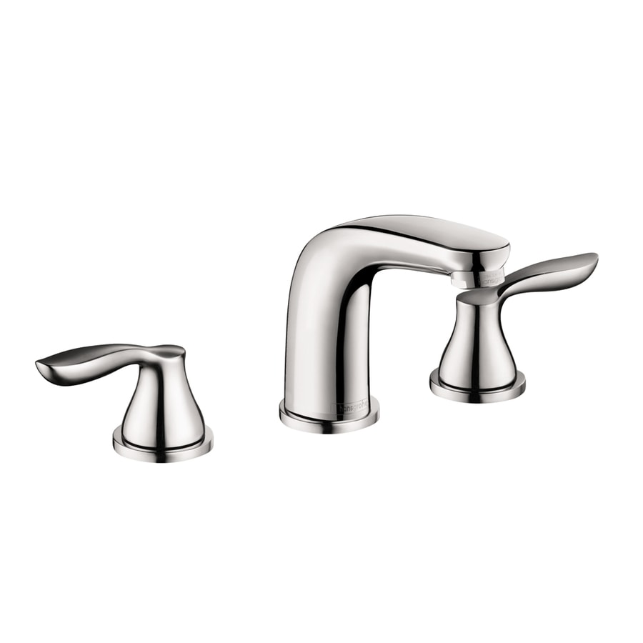 Delicieux Hansgrohe Solaris E Chrome 2 Handle Widespread Bathroom Faucet (Drain  Included)