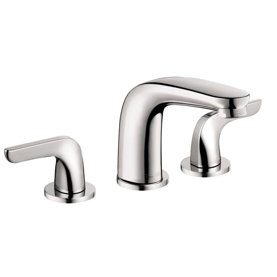 Shop hansgrohe allegro e chrome 2 handle deck mount - Hansgrohe shower handle ...