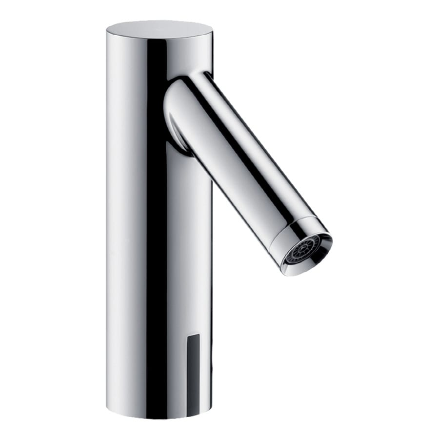 Hansgrohe Axor Starck Chrome Touchless Single Hole WaterSense Bathroom Faucet (Drain Included)