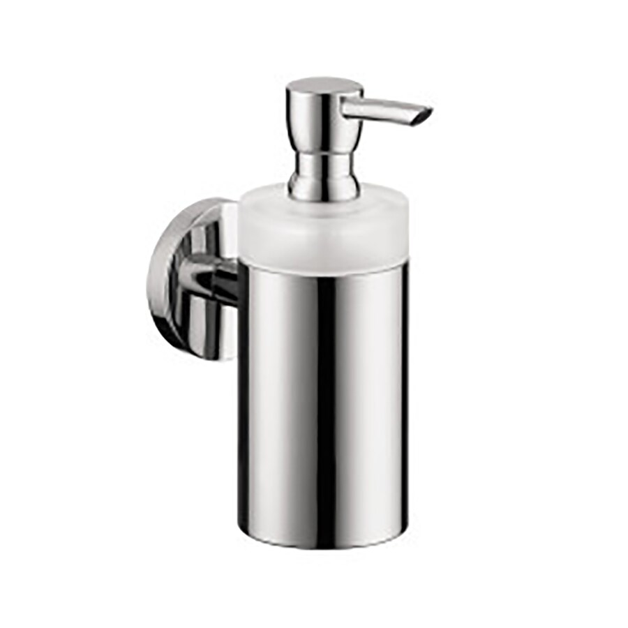 Hansgrohe Accessories Chrome Soap and Lotion Dispenser