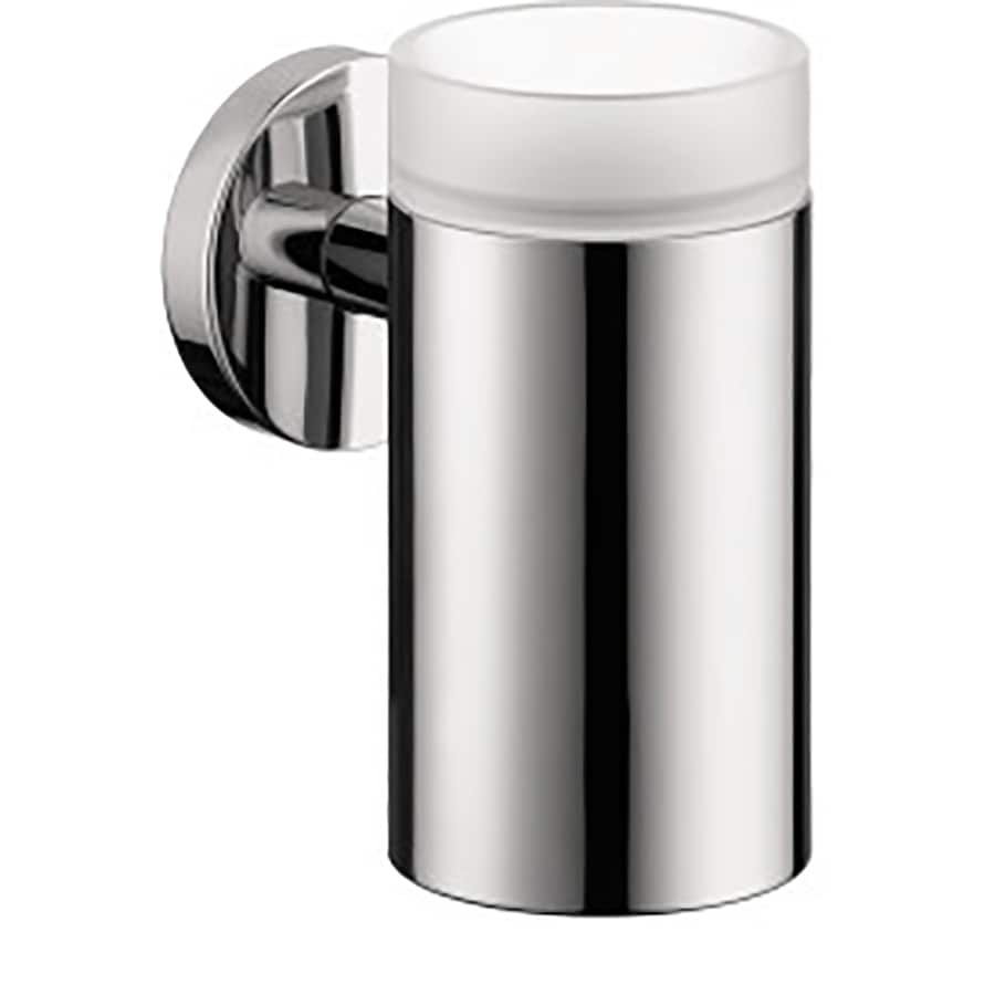 Hansgrohe Accessories Chrome Brass Toothbrush Holder
