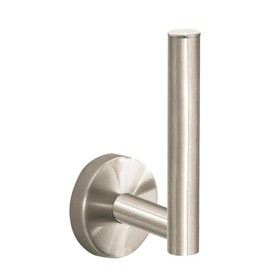 Hansgrohe HG Accessories Brushed Nickel Surface Mount Toilet Paper Holder
