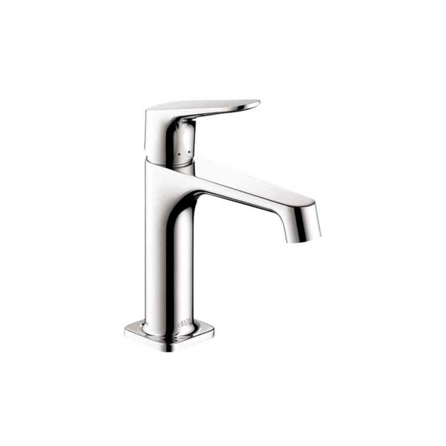 Hansgrohe Axor Citterio M Chrome 1-Handle Single Hole Bathroom Faucet (Drain Included)