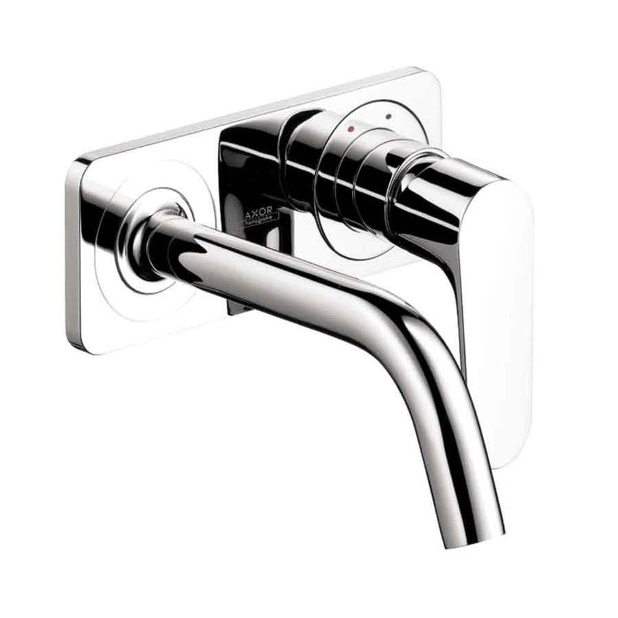 Hansgrohe Axor Citterio M Chrome 1-Handle 4-in Centerset Bathroom Faucet (Drain Included)