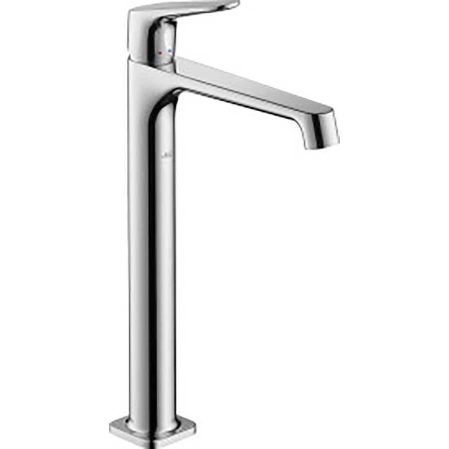 Hansgrohe Axor Citterio M Chrome 1-Handle Single Hole Bathroom Faucet Drain Included