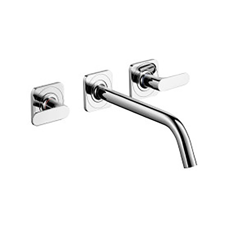 shop hansgrohe axor citterio m chrome 2 handle widespread bathroom faucet drain included at. Black Bedroom Furniture Sets. Home Design Ideas