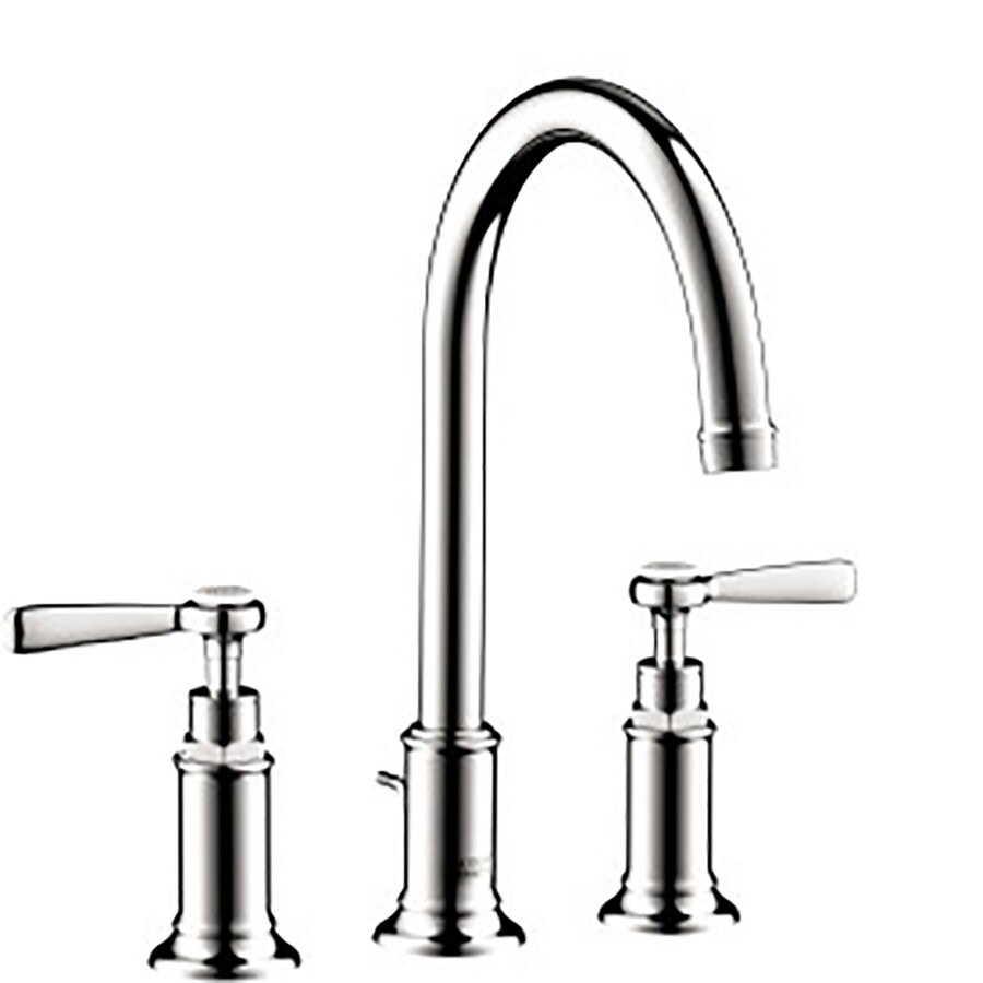 Hansgrohe Axor Montreux Chrome 2-Handle Widespread WaterSense Bathroom Faucet (Drain Included)