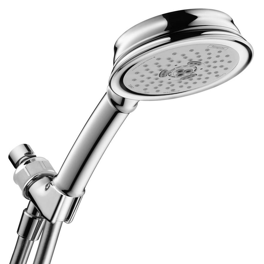 Hansgrohe HG Shower 4.5-in 2.5-GPM (9.5-LPM) Chrome 3-Spray Hand Shower