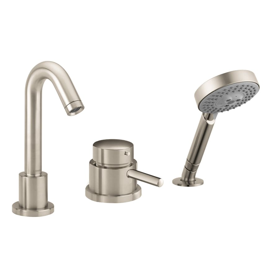 Shop hansgrohe talis s brushed nickel 1 handle deck mount - Hansgrohe shower handle ...