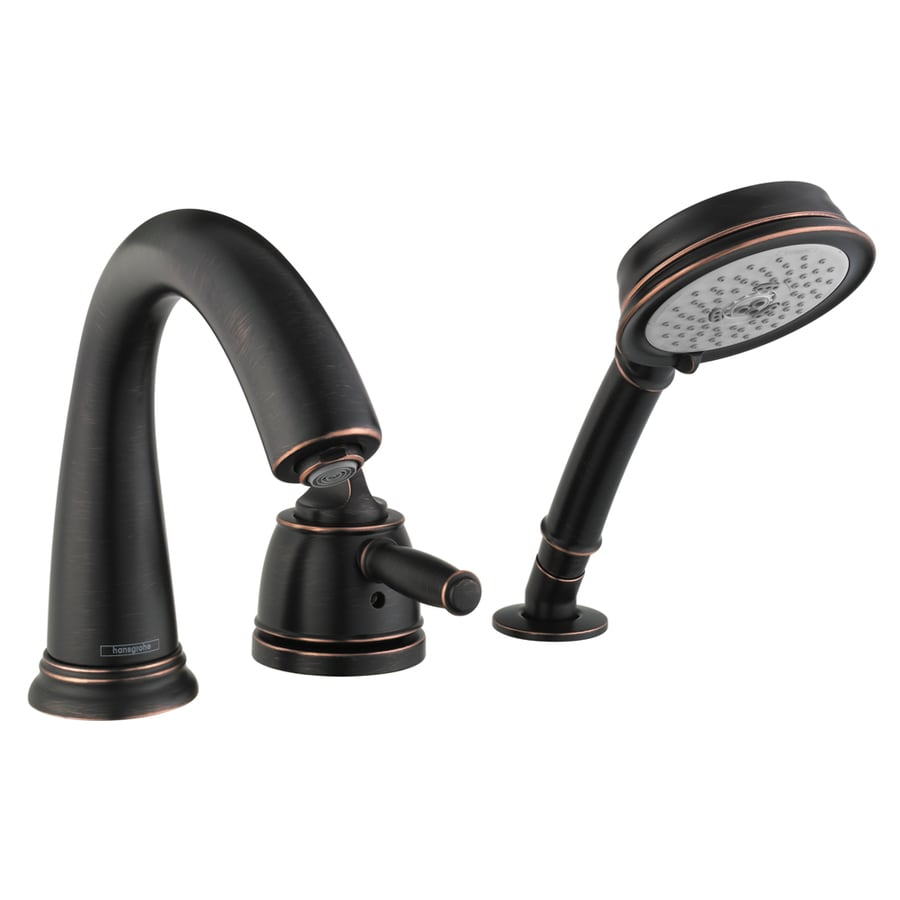 Hansgrohe Swing C Rubbed Bronze 1-Handle Deck Mount Bathtub Faucet
