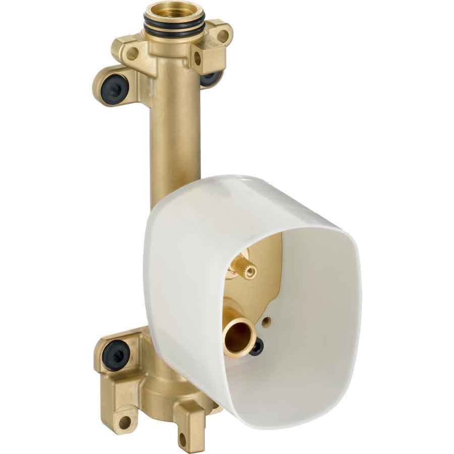Hansgrohe 3/4-in Brass Female In-Line Shower Valve