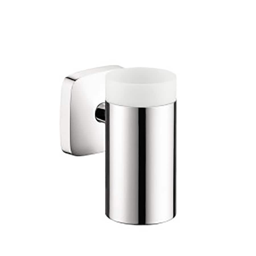 Hansgrohe Puravida Chrome Brass Tumbler and Toothbrush Holder