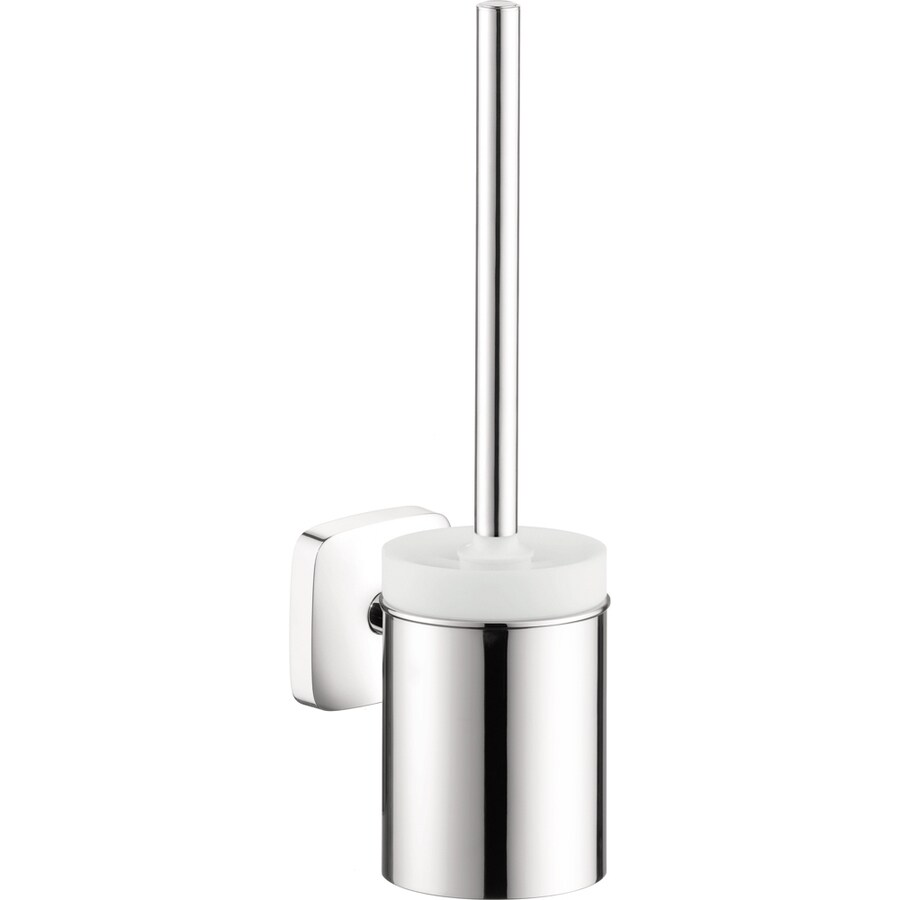 Shop hansgrohe puravida chrome brass toilet brush holder for Hansgrohe puravida