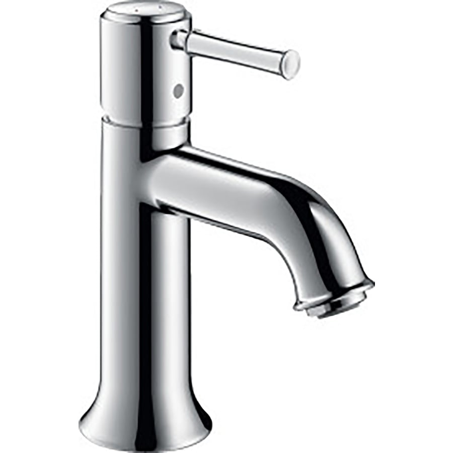 Shop hansgrohe talis c chrome 1 handle single hole watersense bathroom faucet drain included - Hansgrohe shower handle ...