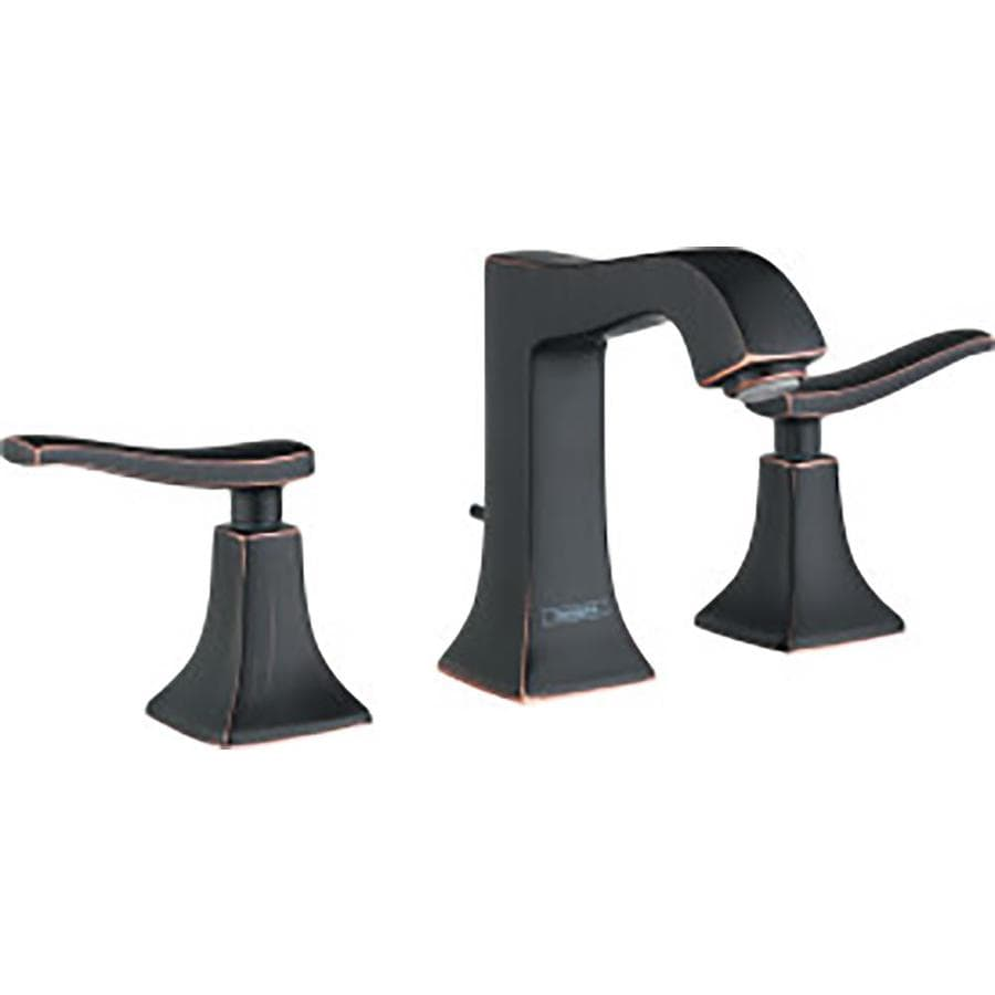 Hansgrohe Metris C Rubbed Bronze 2-Handle Widespread WaterSense Bathroom Faucet (Drain Included)