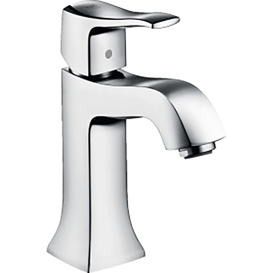 shop hansgrohe metris c chrome 1 handle single hole. Black Bedroom Furniture Sets. Home Design Ideas