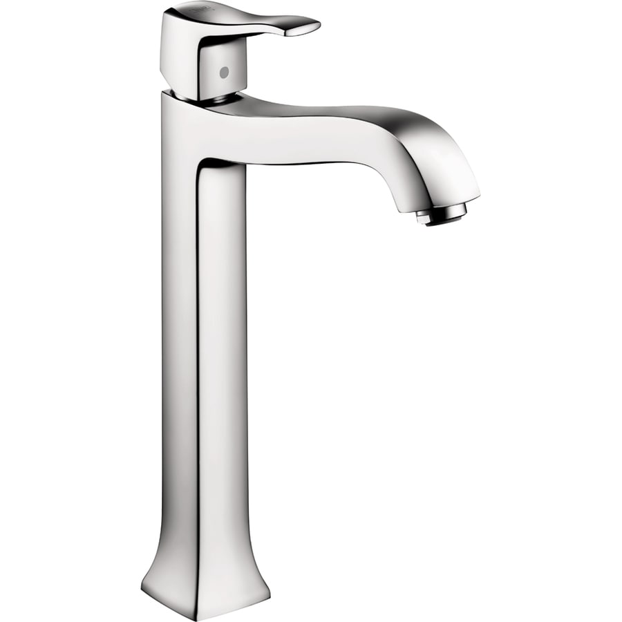 Hansgrohe Metris C Chrome 1-Handle Single Hole WaterSense Bathroom Faucet (Drain Included)