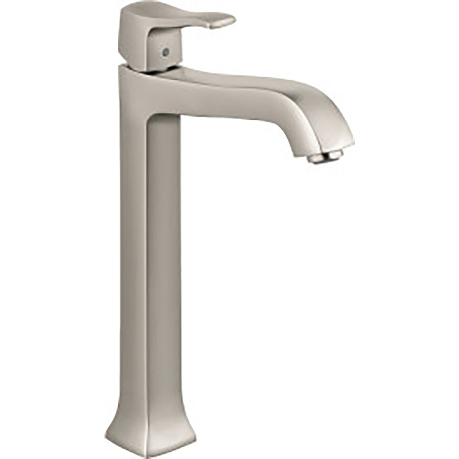 Shop hansgrohe metris c brushed nickel 1 handle single - Hansgrohe shower handle ...