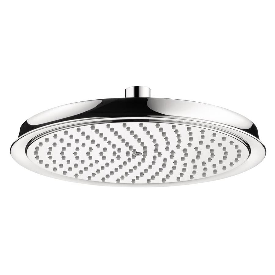 Hansgrohe HG 10-in 2.5-GPM (9.5-LPM) Chrome Rain Showerhead