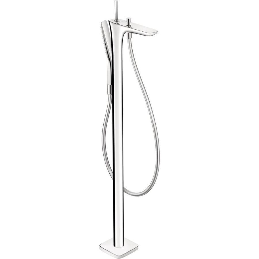Hansgrohe PuraVida Chrome 1-Handle Freestanding Bathtub Faucet