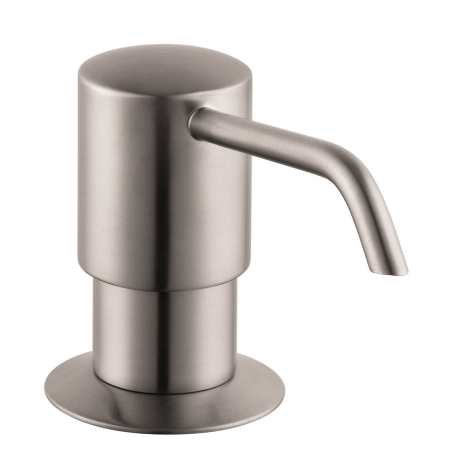 Hansgrohe Steel Optik Soap/Lotion Dispenser