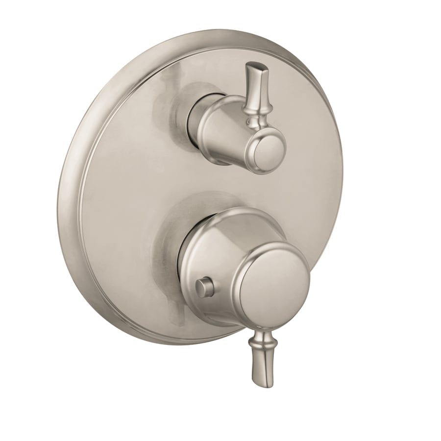 Shop hansgrohe brushed nickel shower handle at - Hansgrohe shower handle ...