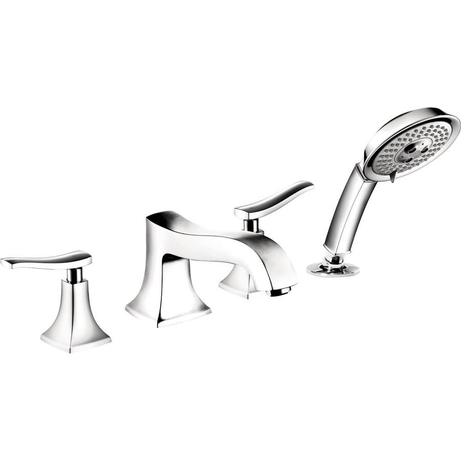 Hansgrohe Metris C Chrome 2-Handle Deck Mount Bathtub Faucet