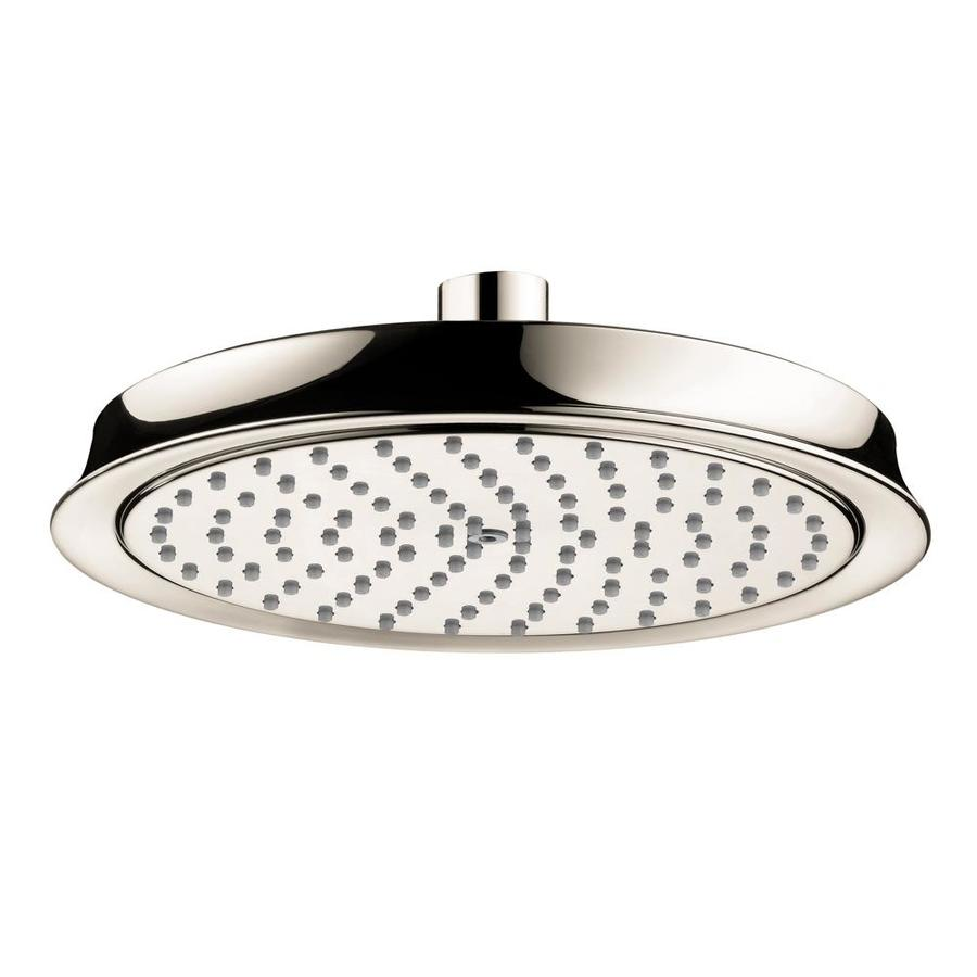 Hansgrohe HG 7-in 2.5-GPM (9.5-LPM) Polished Nickel 1-Spray Rain Showerhead