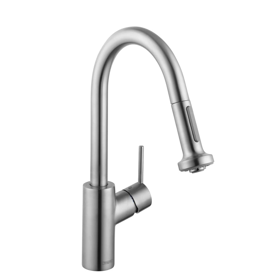 Hansgrohe Hg Kitchen Steel Optik 1-Handle Bar and Prep Faucet