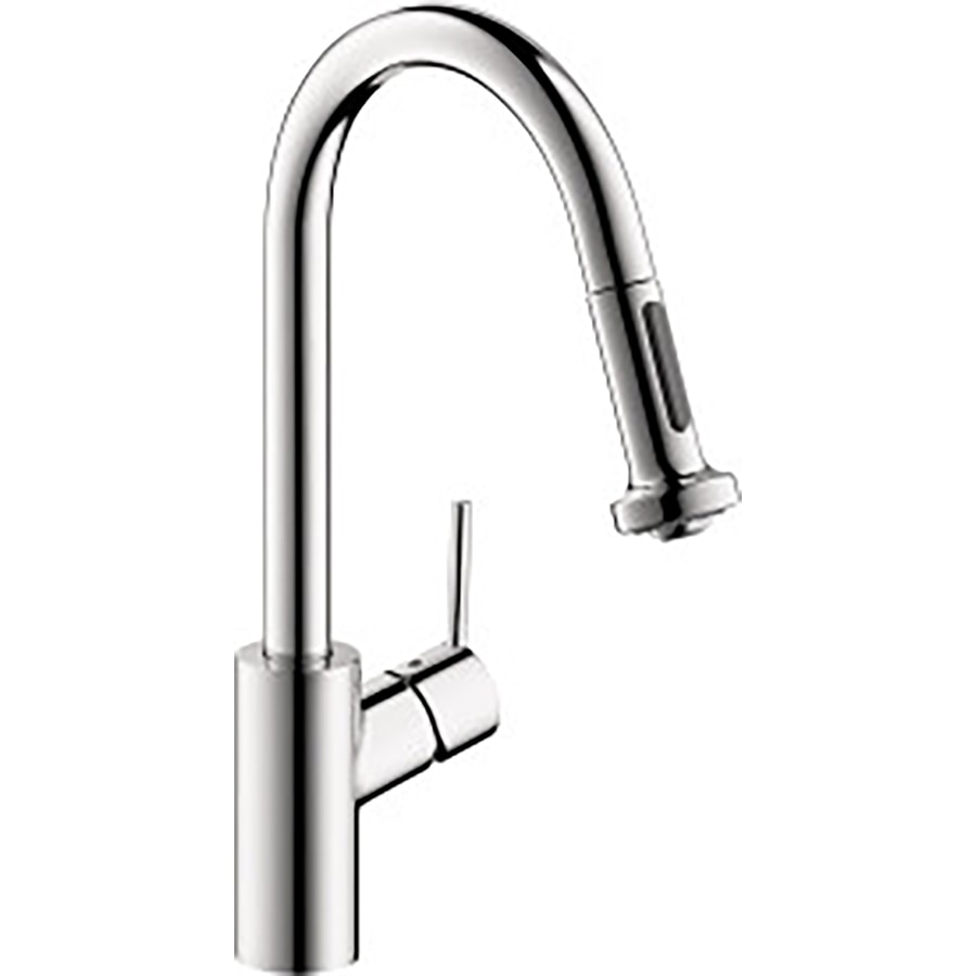 Hansgrohe HG Kitchen Chrome 1-Handle Pull-Down Kitchen Faucet