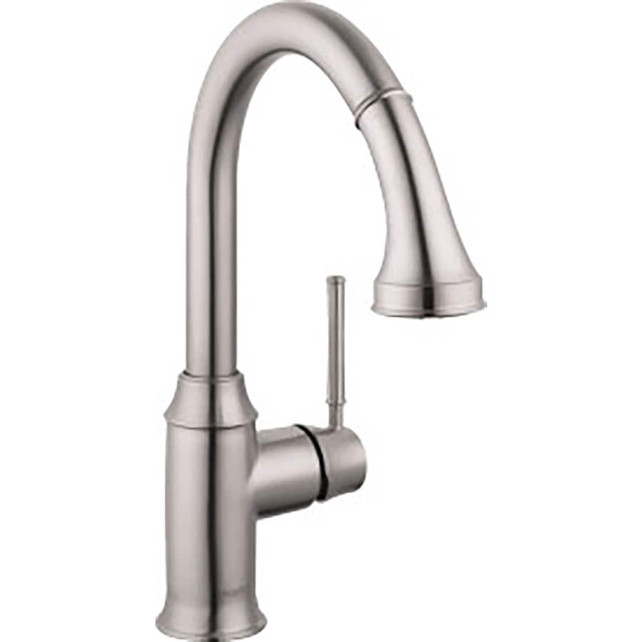 Hansgrohe HG Kitchen Steel optik 1-Handle Kitchen Faucet