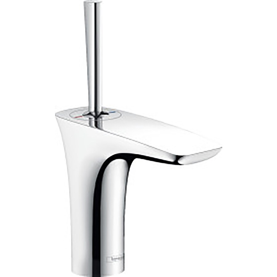 Hansgrohe Puravida Chrome 1-Handle Single Hole Bathroom Faucet (Drain Included)