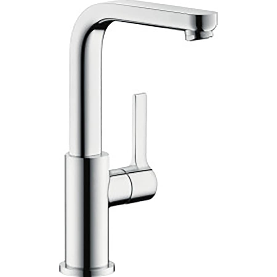 shop hansgrohe metris s chrome 1 handle single hole. Black Bedroom Furniture Sets. Home Design Ideas